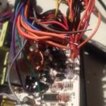 ATX Netzteil mit ausgelöteten Kabeln