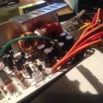 ATX Netzteil mit begradigten Kondensatoren